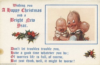 Collection of WW1 Christmas cards 25