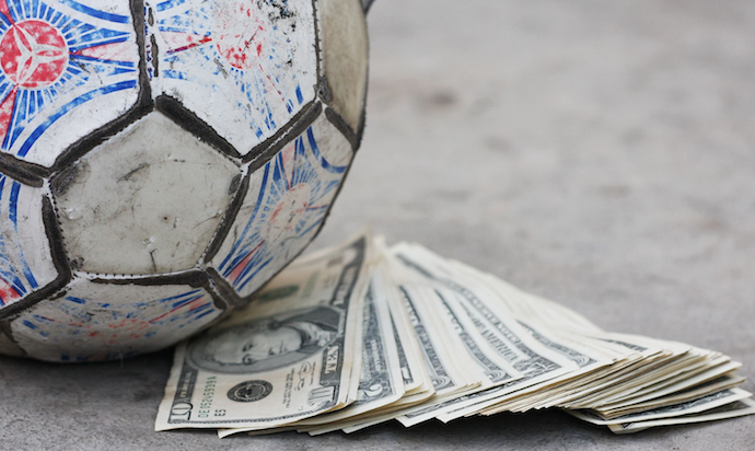 cherno toto, korupcia, fotbol