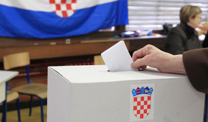 Croatia vote