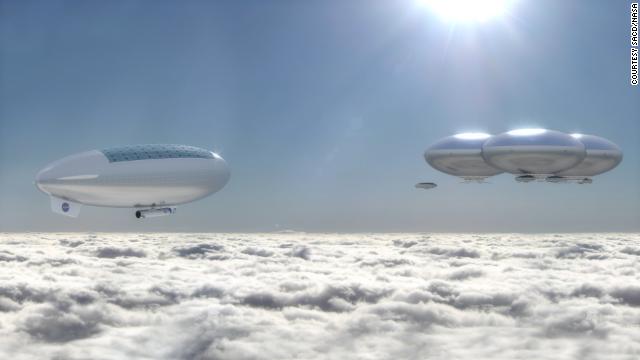 NASA-off-world colony above Venus