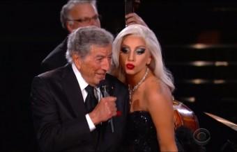 """Изпълнението на """"Cheek to Cheek"""" на Лейди Гага и Тони Бенет"""