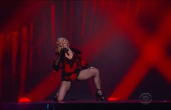 И разбира се, Мадона. Защото и на 56 може да облече това