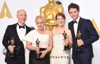 И изобщо дебютантите на Оскарите - всички тези получават наградата за първи път. Само Джулиан Мур има предишни номинации, последната през 2003-а.