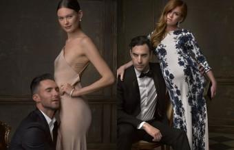 И останалите двойки, снимани след Оскарите, от фотографа Марк Селиджър, специално за Instagram и Vanity Fair. Това са Бехати Принслоу и Адам Ливайн, и Саша Барон Коен и Айла Фишър