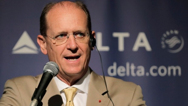 Delta Air Lines CEO Richard Anderson on July 30, 2013. (AP / Itsuo Inouye)