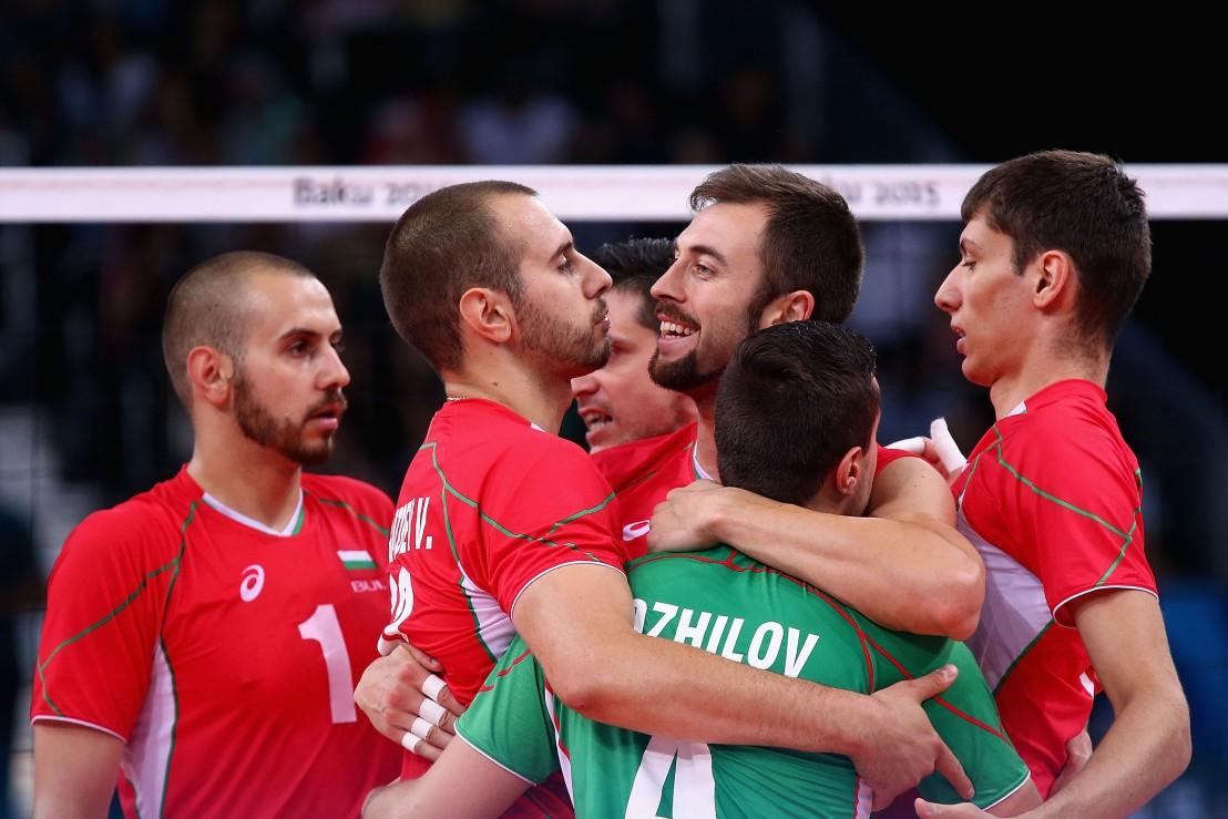България, волейбол, национален отбор, европейски олимпийски игри, баку