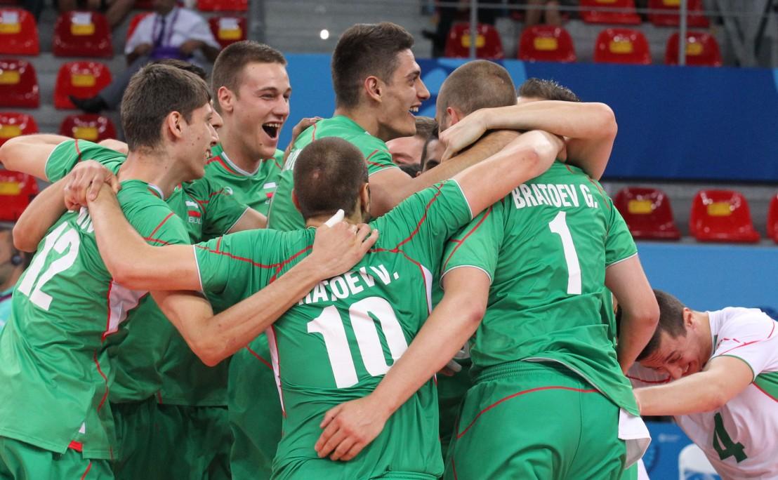 България, волейбол, европейски олимпийски игри, баку, национален отбор