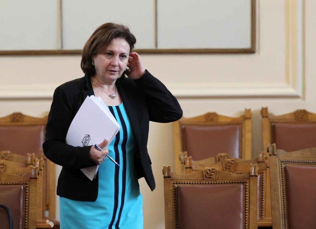 Румяна Бъчварова, Бъчварова, МВР, парламент