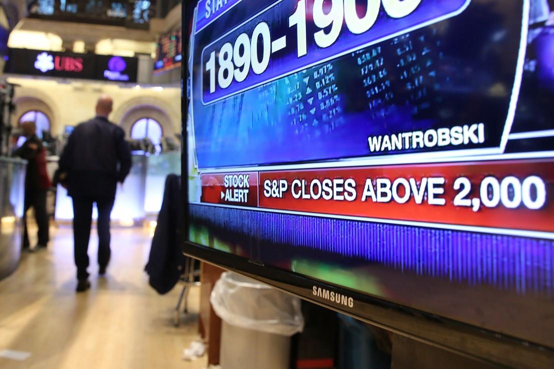Stocks Hit Intraday Record