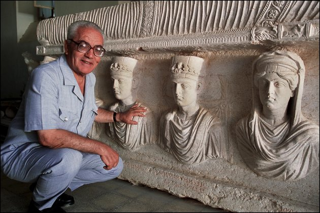 Palmyra'S Last Treasures In Syria In September, 2002.