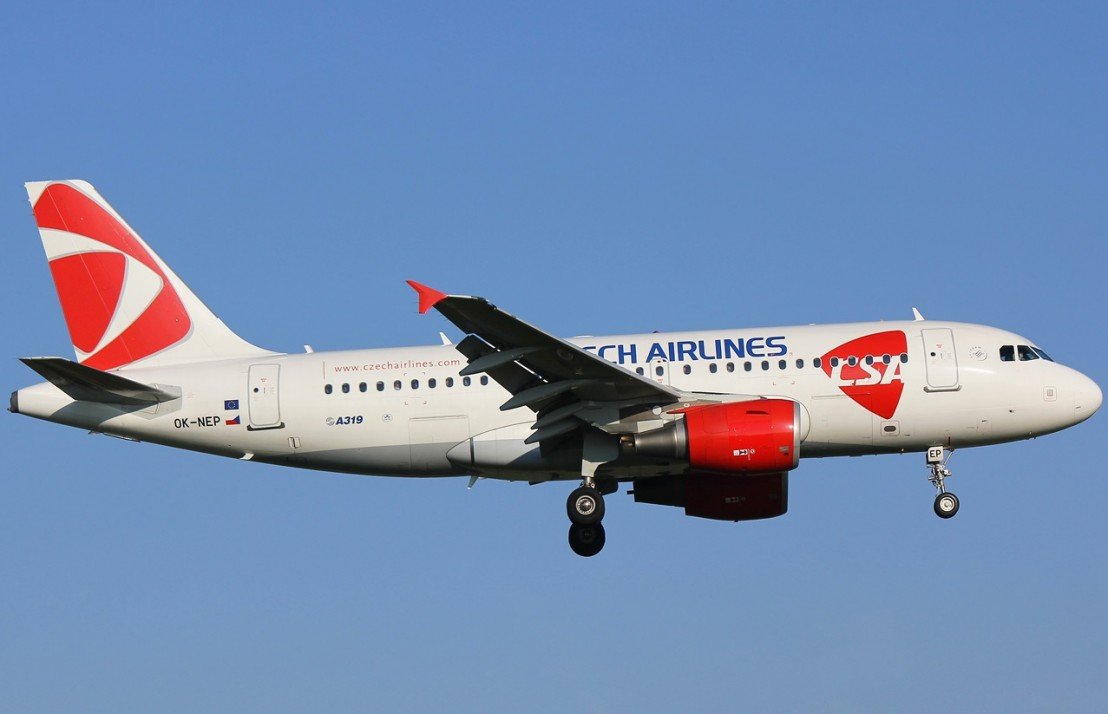 Czech-Airlines-CSA-Airbus-A319-100