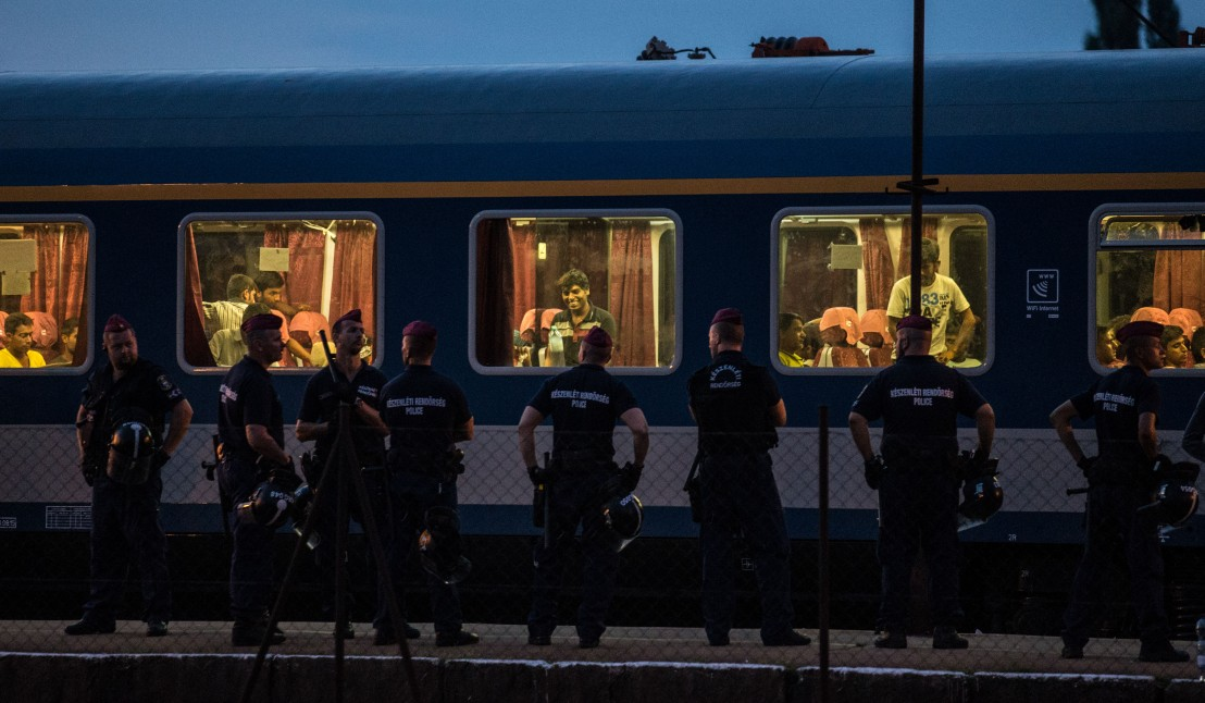 Doors Are Opened To Migrants At Budapest Railway Station