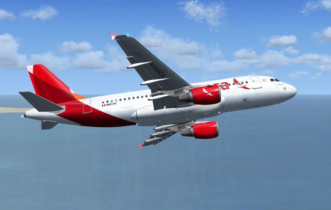 Airbus A319 Avianca Peru