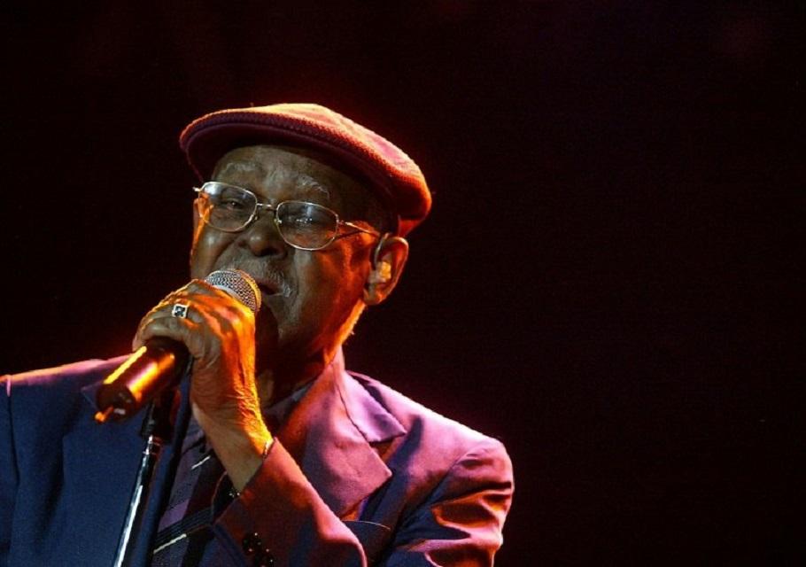 Cuban singer Ibrahim Ferrer