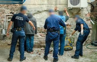 полиция, нелегални имигранти, мигранти, бежанци