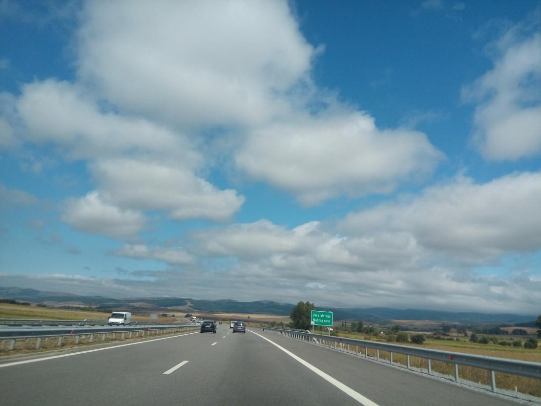 път, трафик, задръстване, магистрала струма