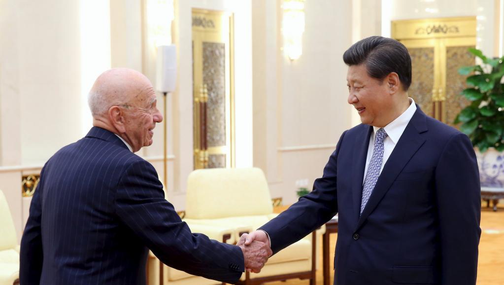 Xi Jinping - Rupert Murdoch