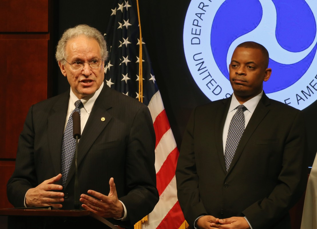 US Transportation Secretary Foxx Makes Announcement On Takata Air Bag Recall