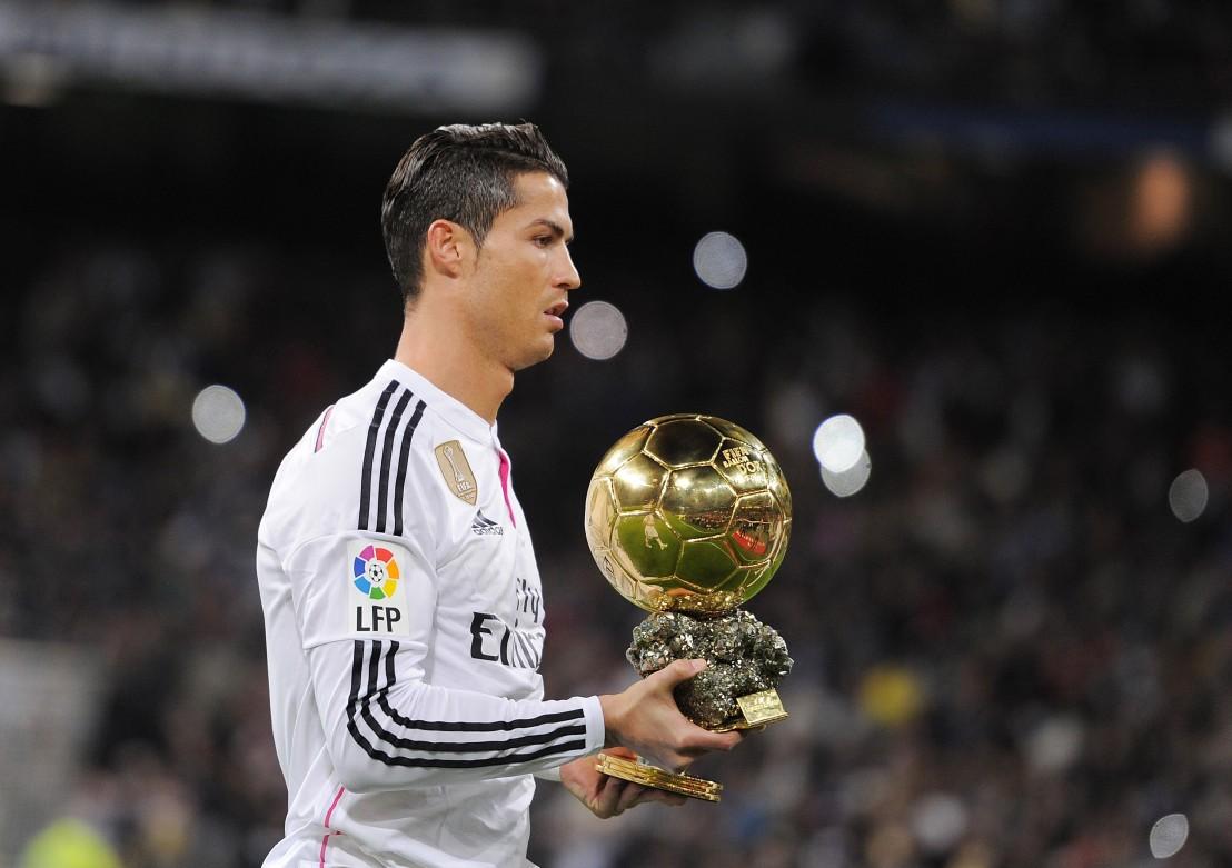кристиано роналдо, златна топка, реал мадрид, сантяго бернабеу