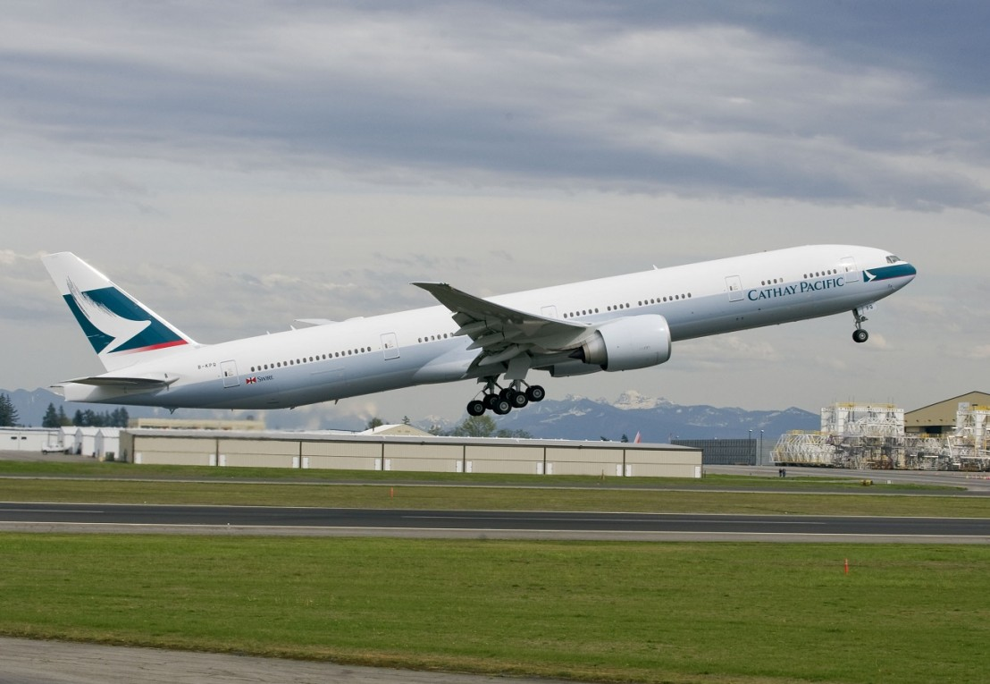Cathay Pacific 777-300ER - 75th Direct DeliveryK64929-03