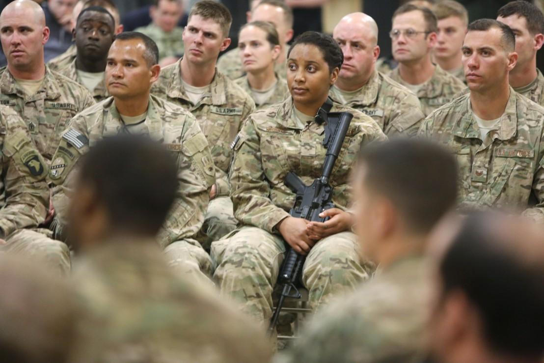 американски войници в афганистан
