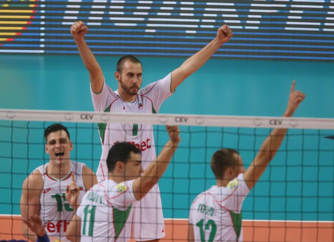 българия, франция, евроволей 2015, волейбол, национален отбор