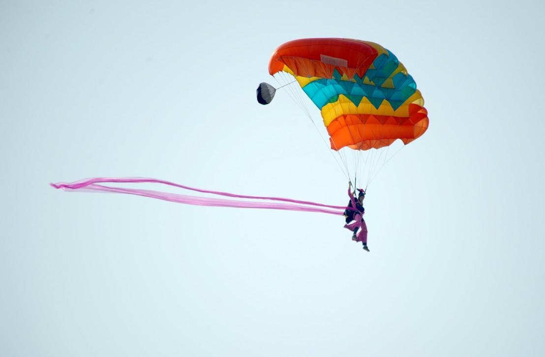 парашут, парашутист