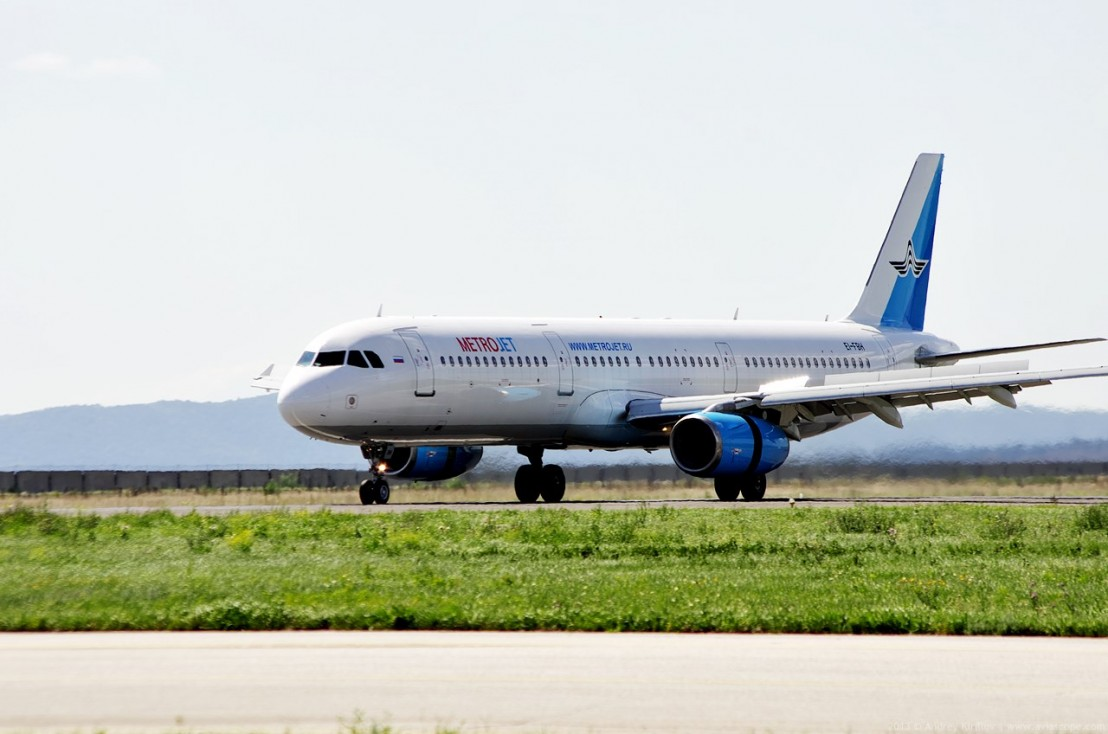 Kogalymavia (MetroJet) Airbus A321-231 EI-FBH, Kurumoch International Airport, 22 August 2013