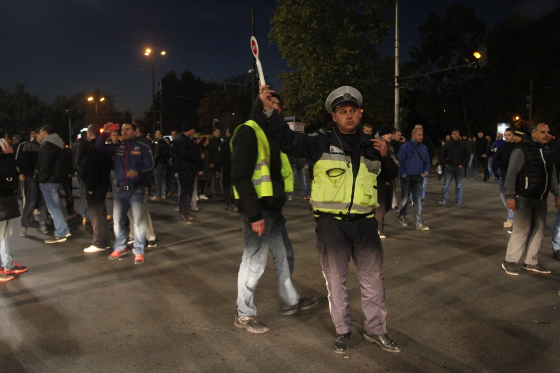 полиция, протест на полицаи