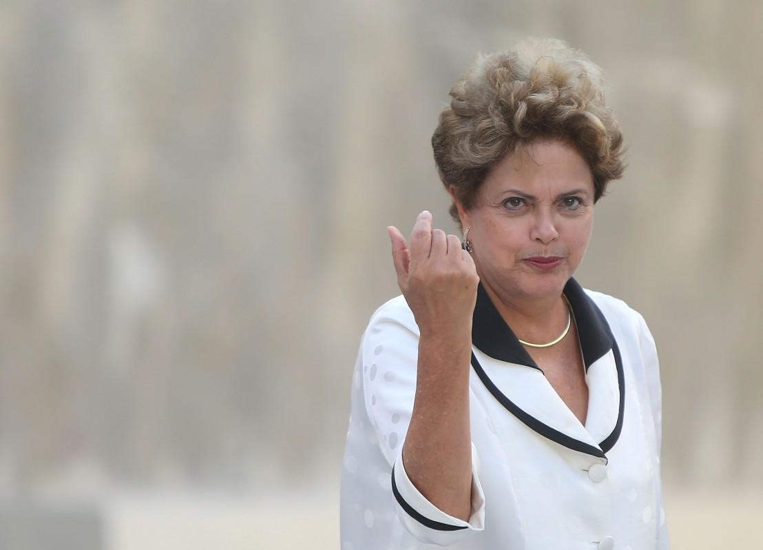 37. Президентът на Бразилия Дилма Русеф