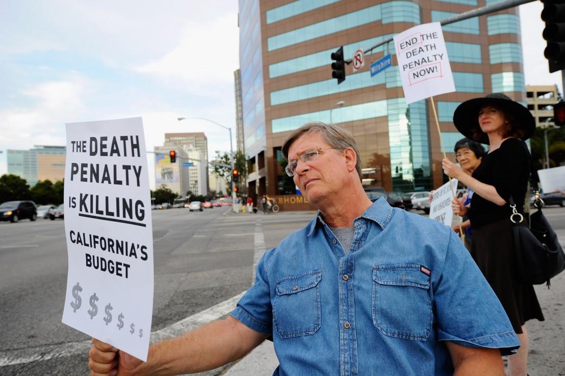 смъртно наказание, протест
