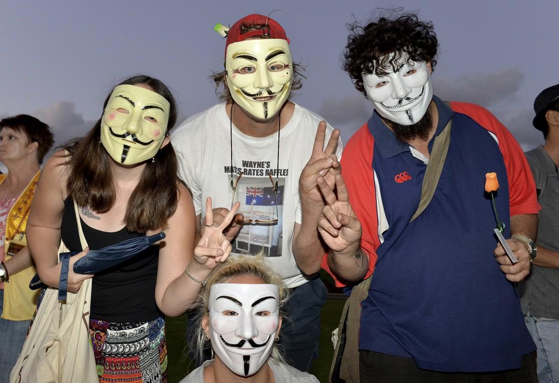 анонимните, хакери