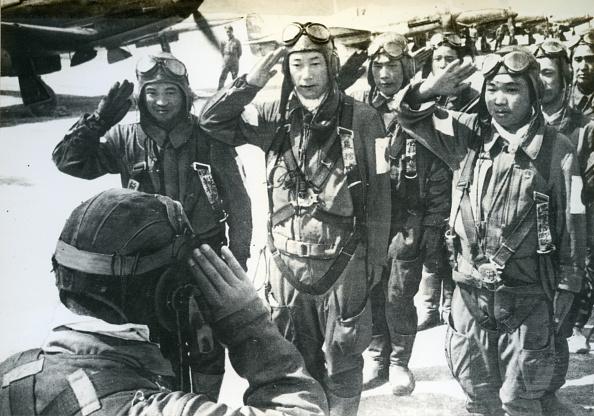 Резултат с изображение за Япония използва за пръв път камикадзе.