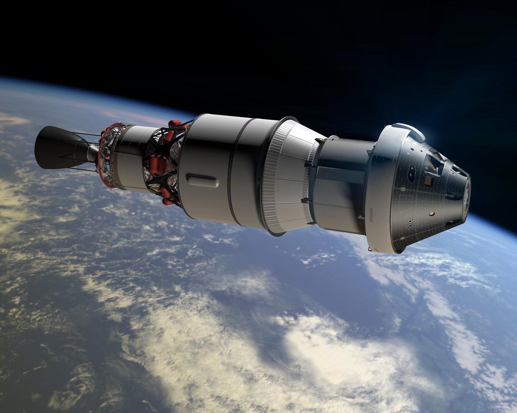 НАСА, орион, космически кораб
