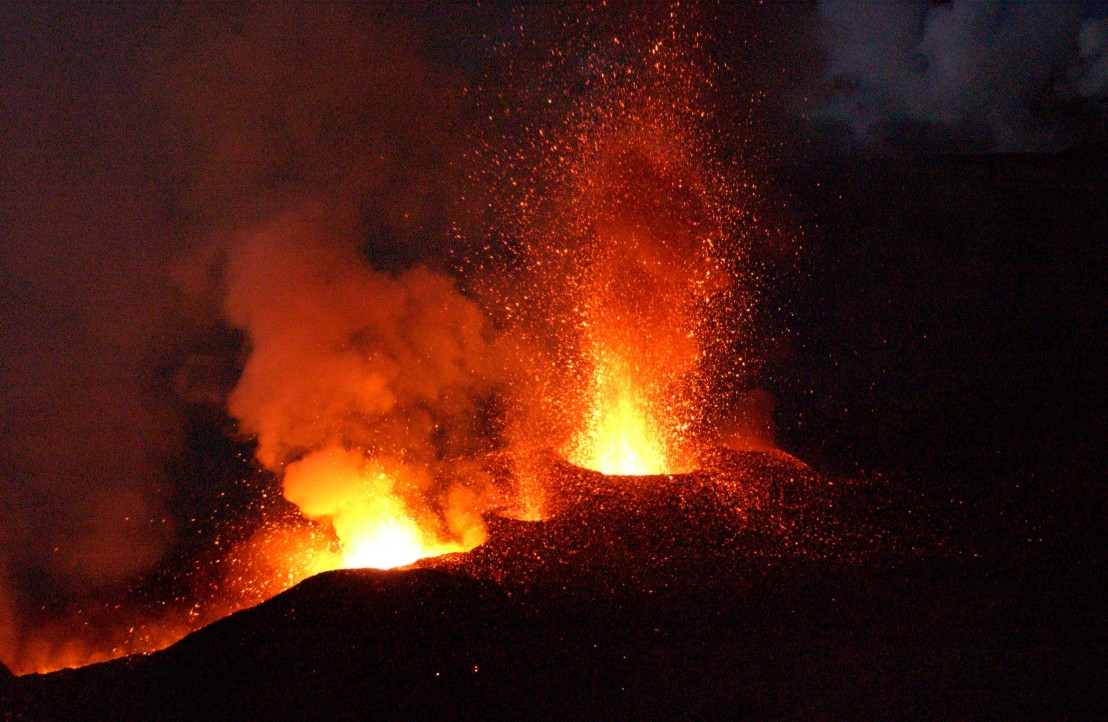 вулканът етна