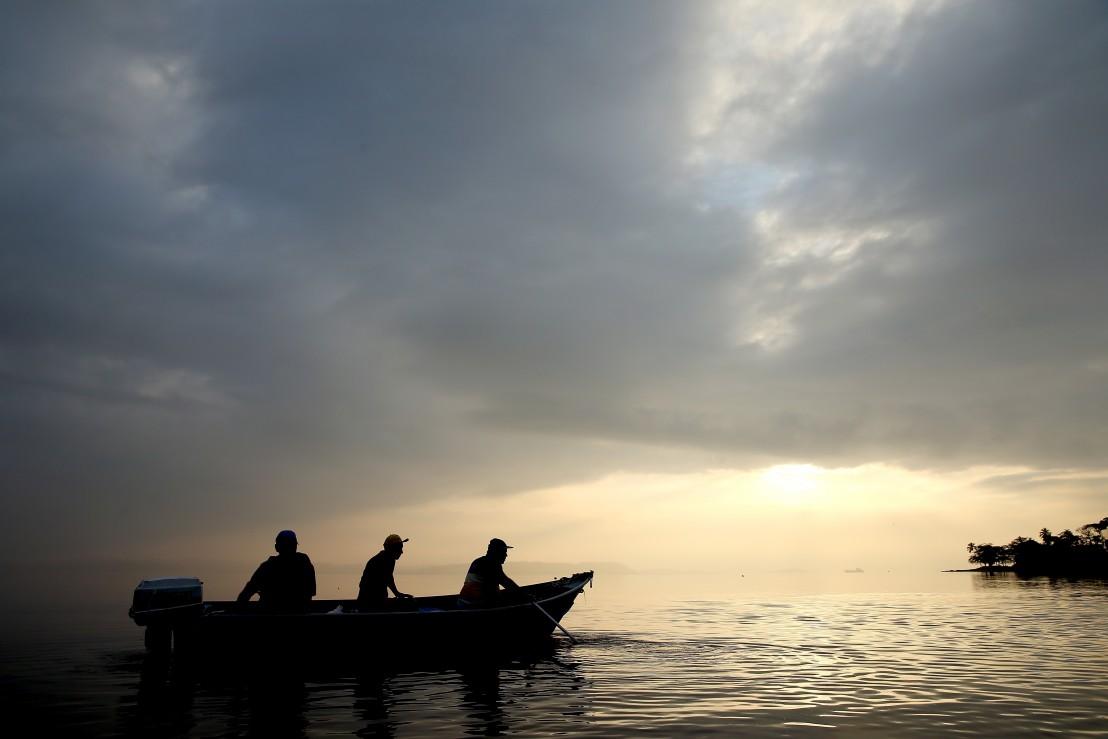 рибари, лодка