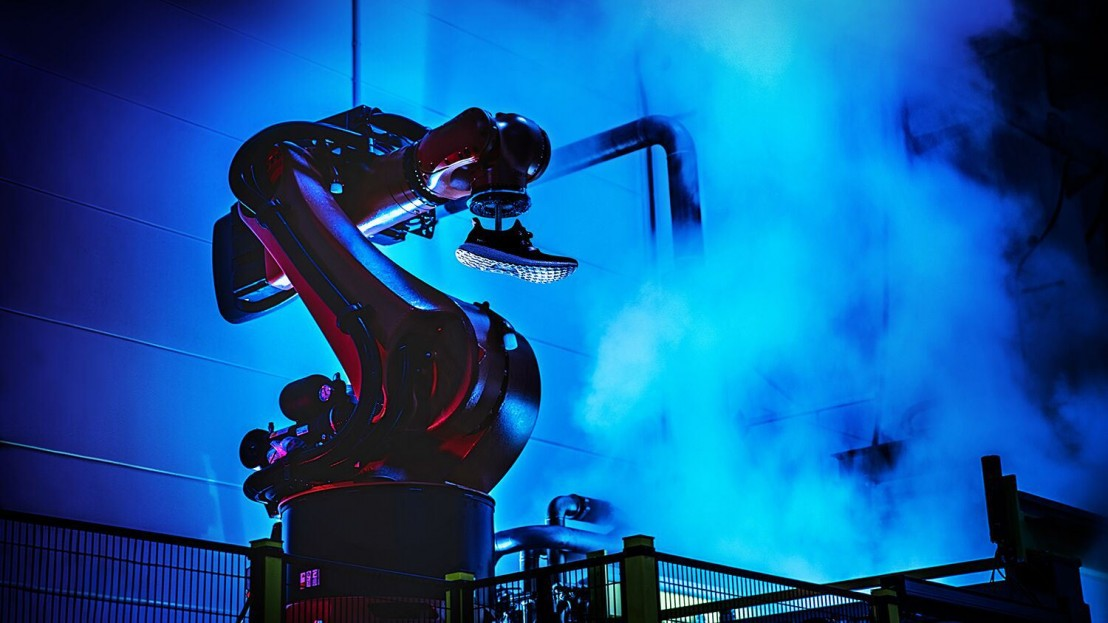 adidas, адидас, роботи, нова фабрика