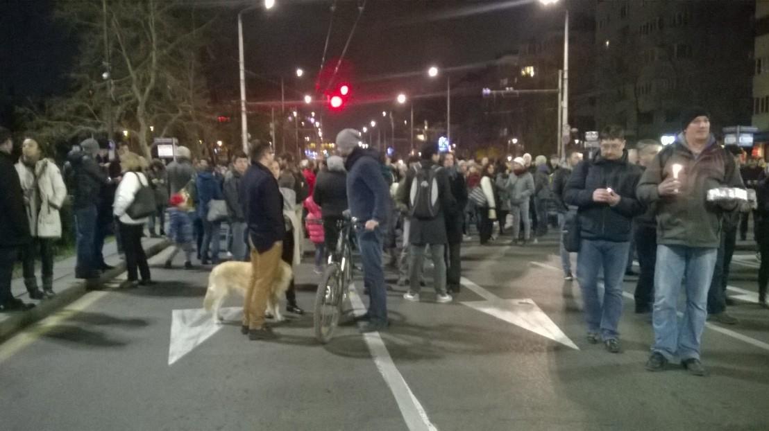 протест в подкрепа на христо иванов и съдебната реформа