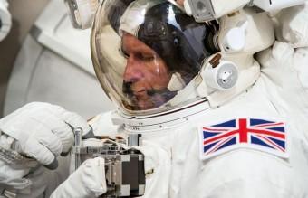 British astronaut Tim Peake - NASA