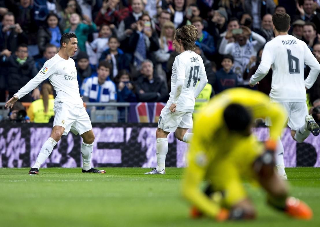 Кристиано Роналдо, Ла Лига, лука модрич, Примера дивисион, реал мадрид, Реал Сосиедад