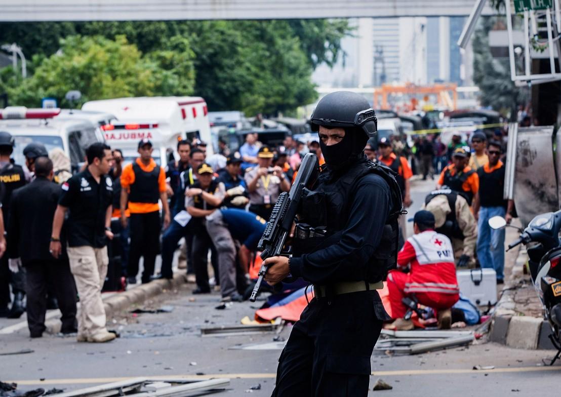 индонезия, джакарта, атентат в джакарта