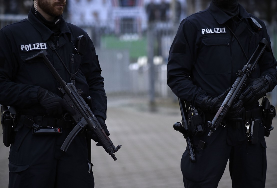 германия полиция германска полиция