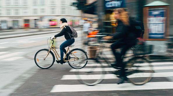 дания, колело, велосипедисти