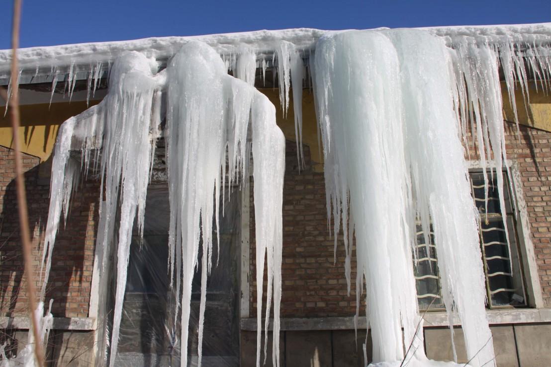 ледени висулки, студ, зима
