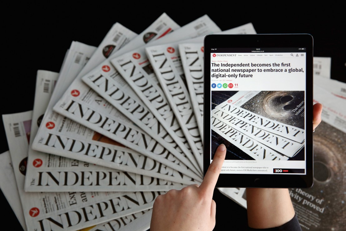 индипендънт The Independent Newspaper Owner To Close Print Titles