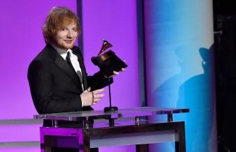 Ед Шийран спечели наградата за най-добра песен Thinking Out Loud