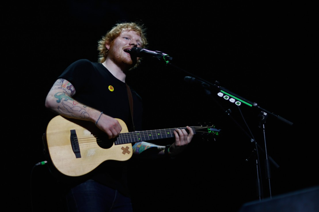 Ed Sheeran Tour - Auckland