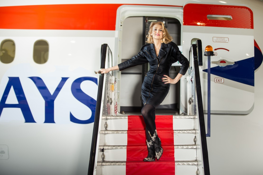 Jerry Hall Launches New British Airways Route to Austin