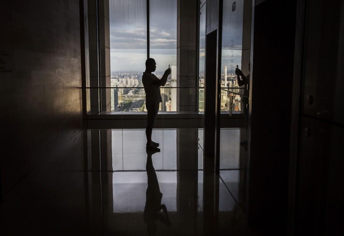 китай, асансьор