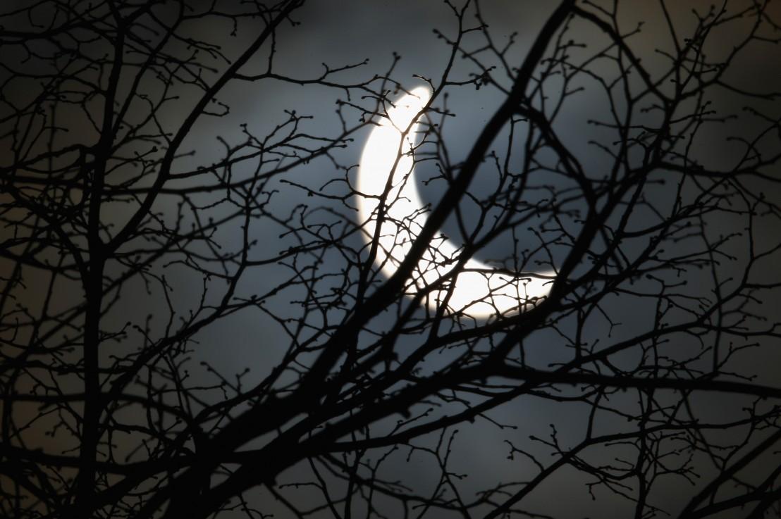 луна, затъмнение